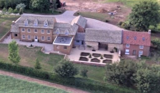Arial view - North Cotswold Contruction Company, experts in building and renovation